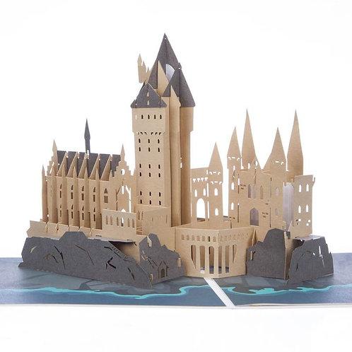 Harry Potter Hogwarts Pop Up Card