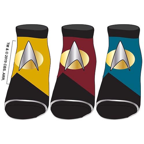 Star Trek Logo Ankle Socks (Pack of 3)