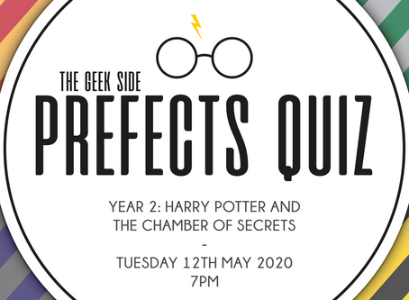 Harry Potter Prefects Quiz - Year 2: The Chamber of Secrets