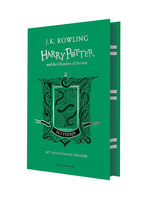 Harry Potter and the Chamber of Secrets - Slytherin Edition Hardback