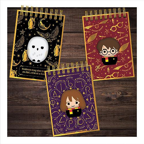 Harry Potter Skwisheez Notebook