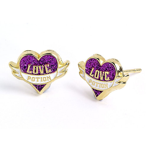 Harry Potter Gold plated Love Potion Stud Earrings