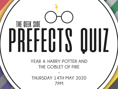 Harry Potter Prefects Quiz - Year 4: The Goblet of Fire