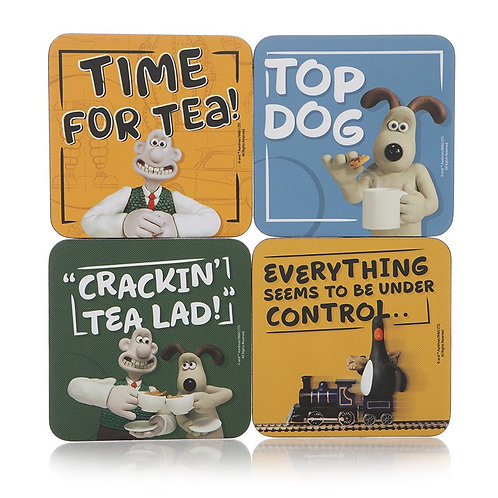 Wallace and Gromit Coaster Set