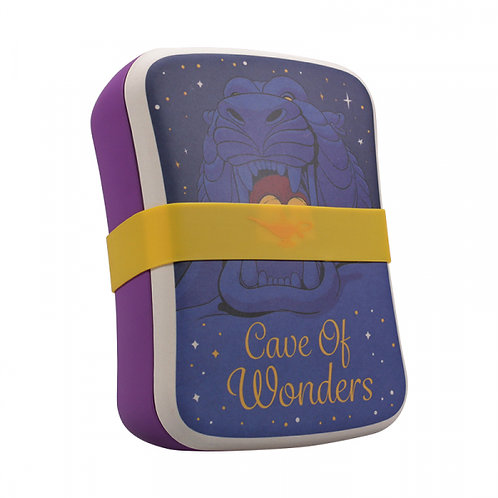 Disney Bamboo Lunch Box - Aladdin Cave of Wonders