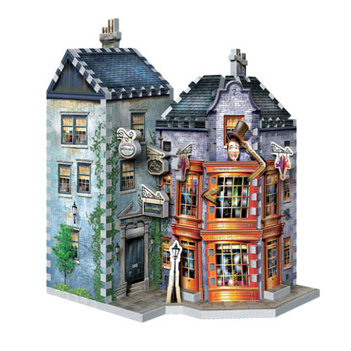 Harry Potter Weasleys Wizard Wheezes and Daily Prophet 3D Puzzle