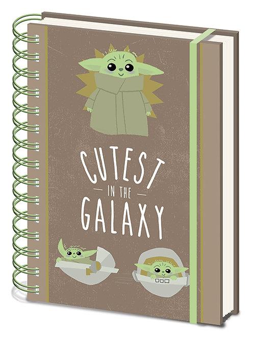 The Mandalorian (Cutest In The Galaxy) A5 Wiro Notebook