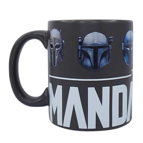 The Mandalorian Mug (Helmets)