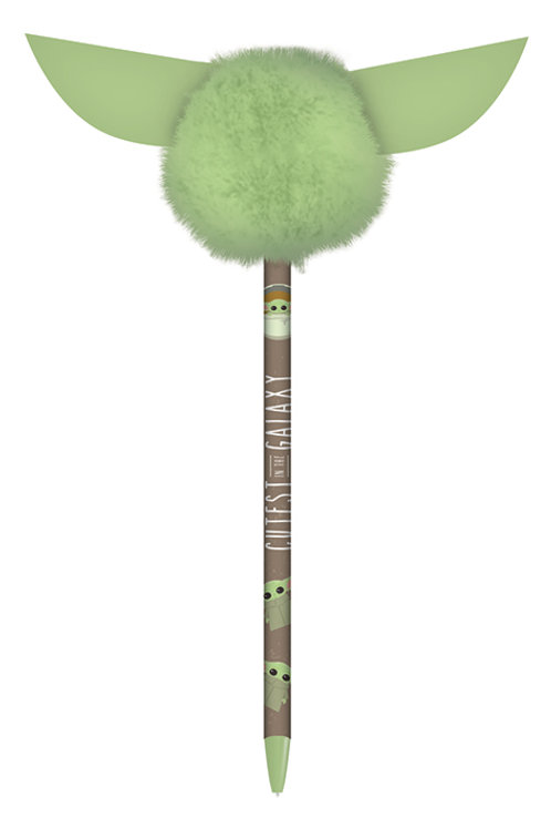 The Mandalorian Pen (Pom Pom Topper)
