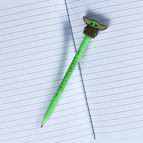 The Mandalorian Pen (The Child Topper)