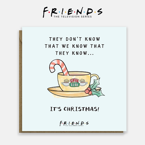 Friends They Don't  Know Christmas Card