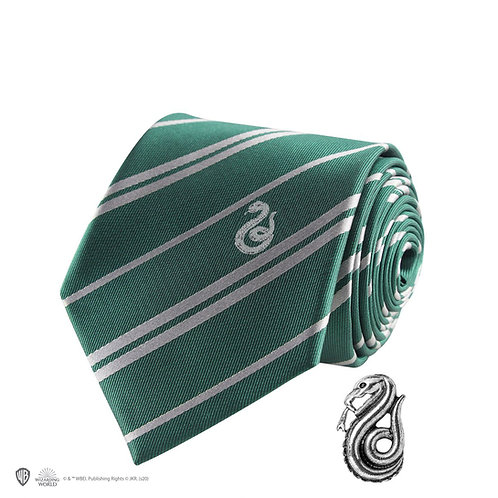 Harry Potter Slytherin Tie - Deluxe Edition