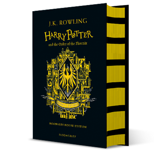 Harry Potter and the Order of the Phoenix - Hufflepuff Edition Hardback