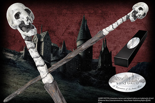 Death Eater Character Wand (Skull)
