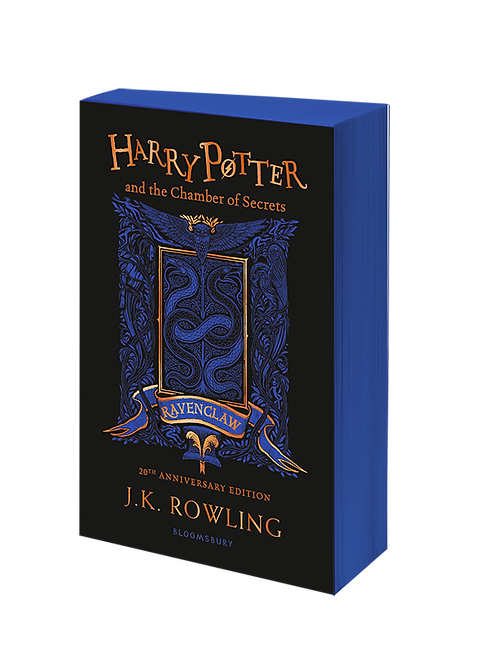 Harry Potter and the Chamber of Secrets - Ravenclaw Edition Paperback
