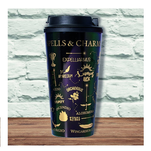 Harry Potter Spells & Charms Travel Mug