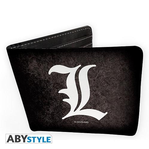 Death Note Wallet - L Symbol