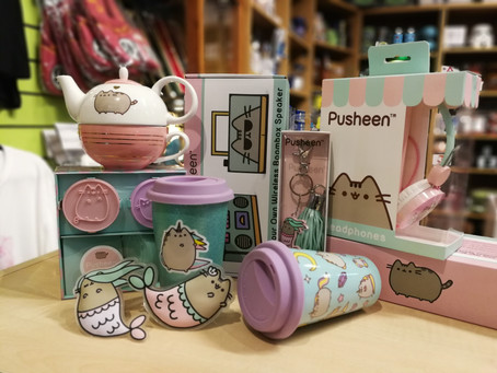 On The Seventh Week of Christmas, The Geek Side Gave to me... Pusheen!