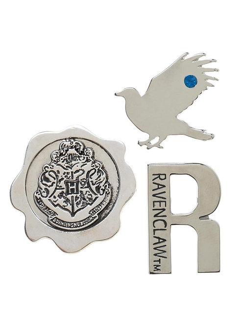 Harry Potter Ravenclaw 3 pack Lapel Pin Set