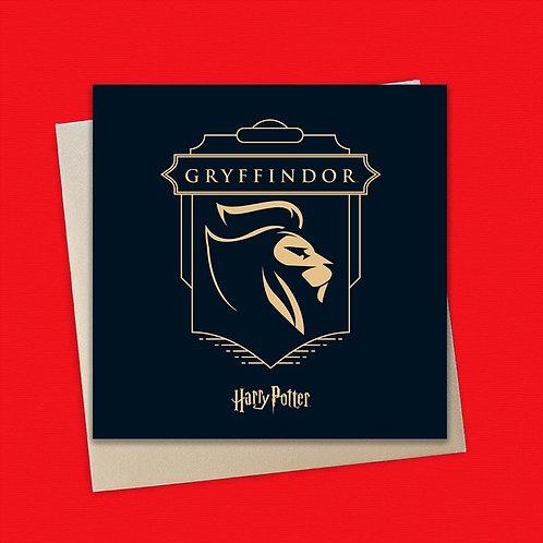Harry Potter Gryffindor Card