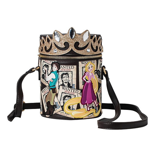 Danielle Nicole Tangled Wanted Cylinder Cross Body Bag