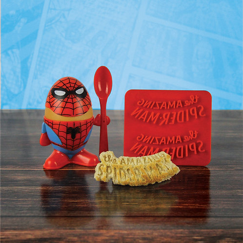 Spider-Man Egg Cup and Toast Cutter