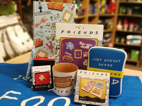 On The First Week of Christmas, The Geek Side Gave to me... Friends!