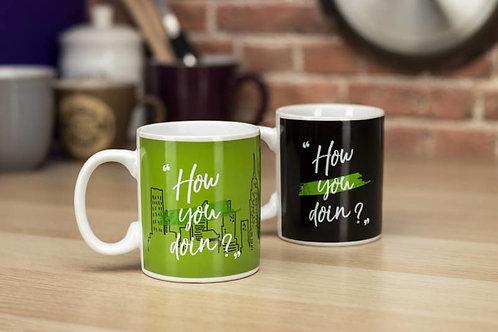 Friends 'How You doin'?' Heat Change Mug