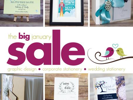 The BIG January Sale