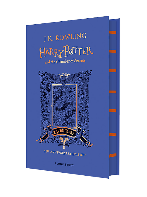 Harry Potter and the Chamber of Secrets - Ravenclaw Edition Hardback
