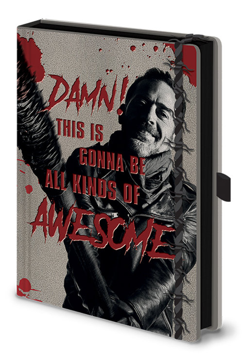 The Walking Dead (Negan and Lucille) Premium A5 Notebook