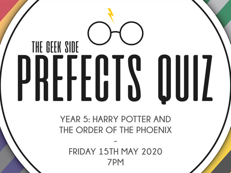 Harry Potter Prefects Quiz - Year 5: The Order of the Phoenix