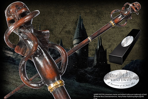 Death Eater Character Wand (Swirl)