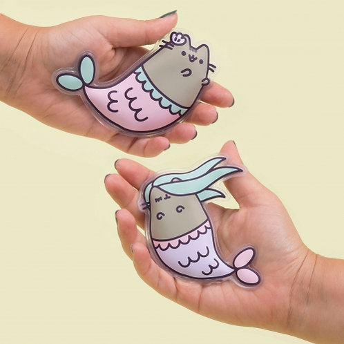 Pusheen Mermaid Hand Warmers