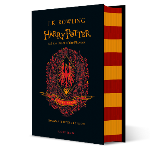 Harry Potter and the Order of the Phoenix - Gryffindor Edition Hardback