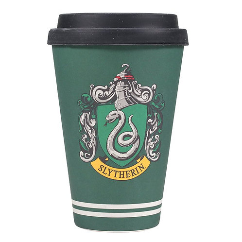 Harry Potter Bamboo Travel Mug (Slytherin)