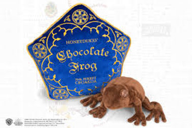 Chocolate Frog Plush & Pillow