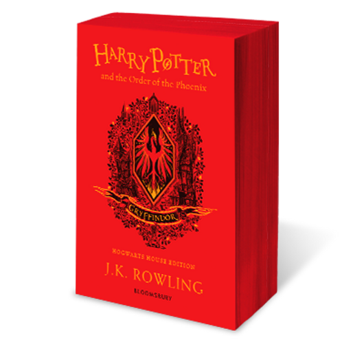 Harry Potter and the Order of the Phoenix - Gryffindor Edition Paperback