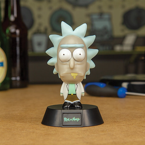 Rick and Morty - Rick Icon Light