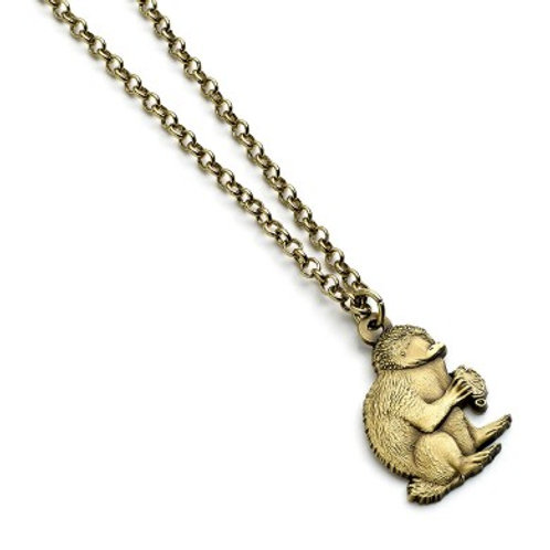 Fantastic Beasts Brass Niffler Necklace