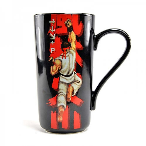 Street Fighter Latte Mug