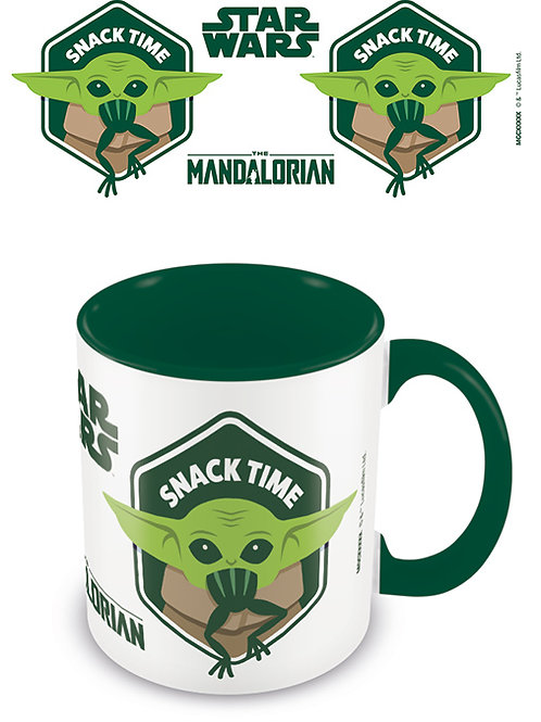 The Mandalorian (Snack Time) Mug