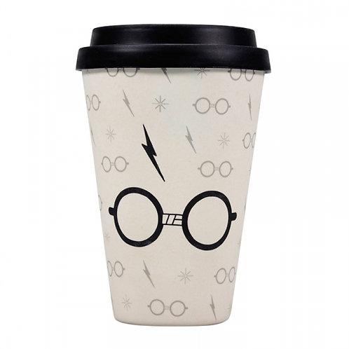 Harry Potter Bamboo Travel Mug - Lightning Bolt