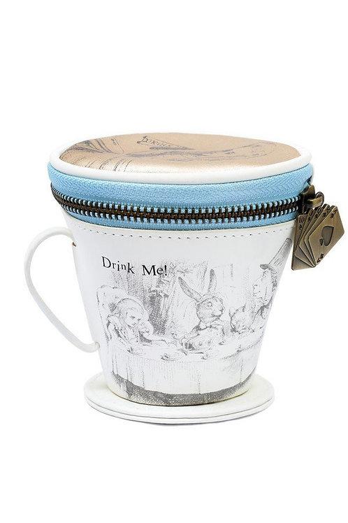 Alice In Wonderland Tea Cup Purse