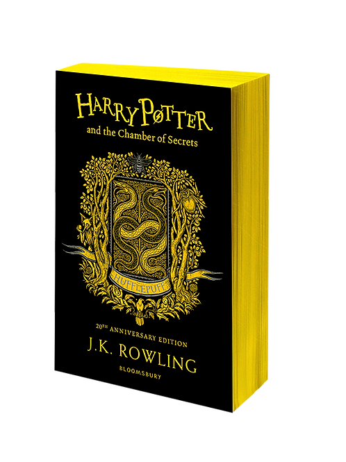 Harry Potter and the Chamber of Secrets - Hufflepuff Edition Paperback
