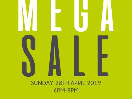 Mega Sale Market Night
