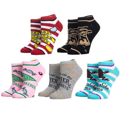 Harry Potter Honeydukes Socks 5 Pack