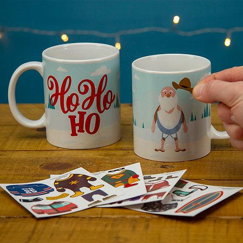 Santa Dress Up Mug