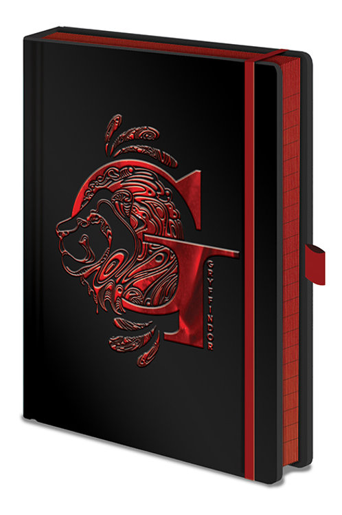 Harry Potter A5 Gryffindor Premium Foil Notebook