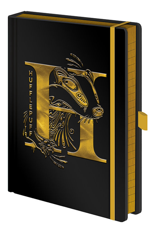 Harry Potter A5 Hufflepuff Premium Foil Notebook